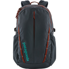 Patagonia Refugio Pack 28L smolder blue w/roots red